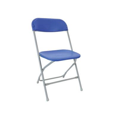 Straight Back Folding Chair