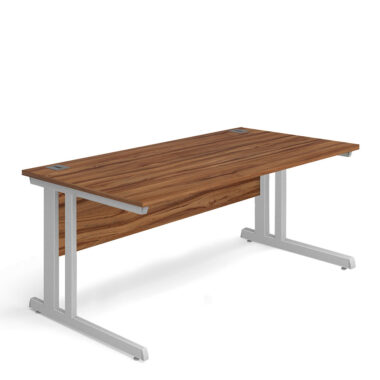STRAIGHT CANTILEVER DESK WITH PEDESTAL